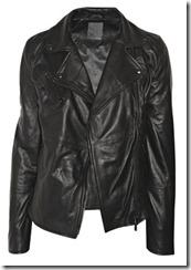 Lot 78 Black Leather Jacket