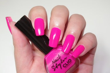 Clio Neon Nail Styler S130 Toxic Pink