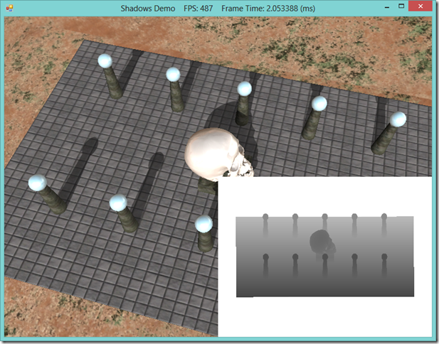 Shadow Mapping with SlimDX and DirectX 11