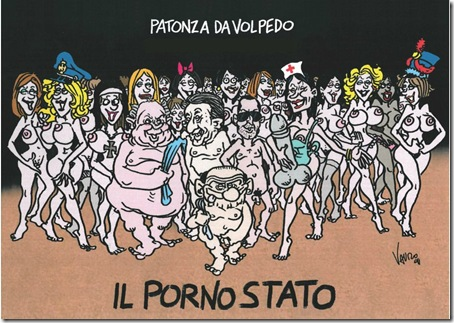 Il 'Porno Stato'  by Vauro Senesi