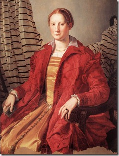 1550_ Portrait of a Lady_ Agnolo Bronzino_ Galleria Sabauda,