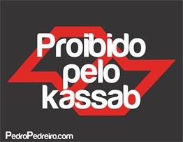 Proibido pelo kassab estampa
