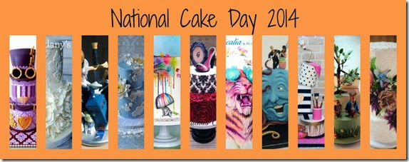 National cake day collage