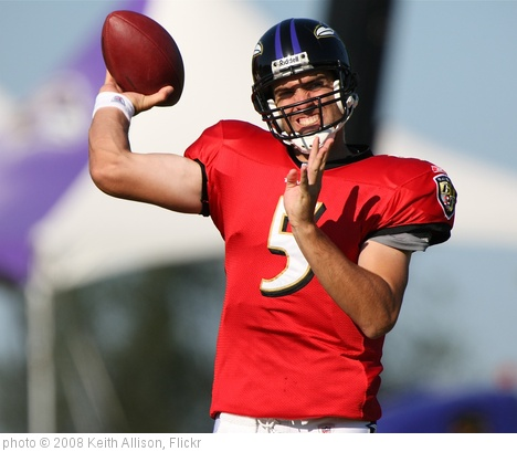 'Joe Flacco' photo (c) 2008, Keith Allison - license: http://creativecommons.org/licenses/by-sa/2.0/