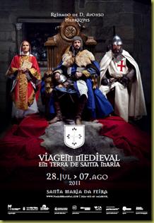 Cartaz Viagem Medieval