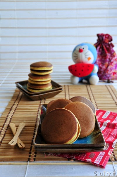 How to Make Dorayaki (日本銅鑼燒) with Video Tutorial   http://uTry.it