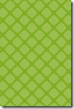 iPhone Wallpaper - Apple Green Quatrefoil - Sprik Space