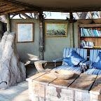Little Vumbura, Lounge © Foto: Ulrike Pârvu   Outback Africa Erlebnisreisen