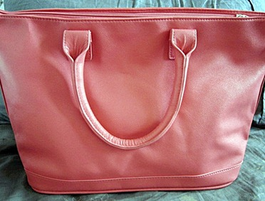 coral parisian bag, bitsandtreats