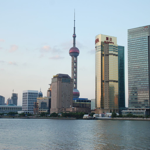 Shanghai South Bund - Crepuscule Pearl Tower
