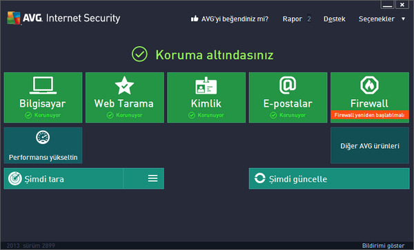 AVG Internet Security v9.0.814 Build 2810 Türkçe Full