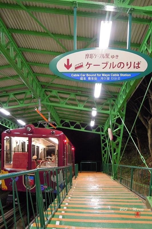 日本 千萬夜景 神戶 摩耶山 夜景