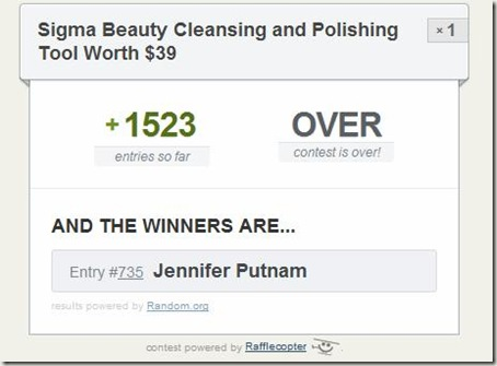 sigma cleansing winner1