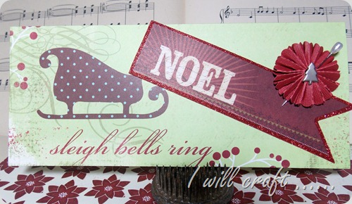 June @  I will craft Christmas card 5