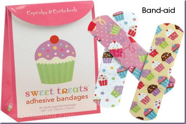 Cupcake-Band-aid