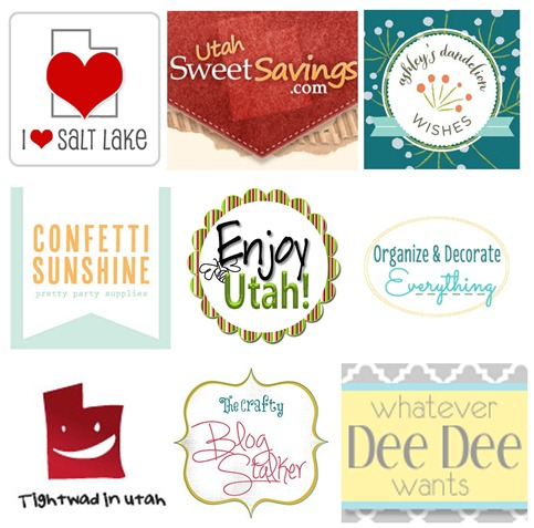 Utah Group Giveaway Bloggers