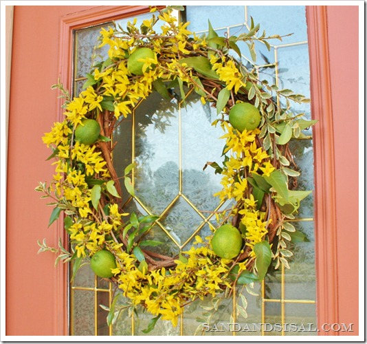 Fresh Spring Wreath