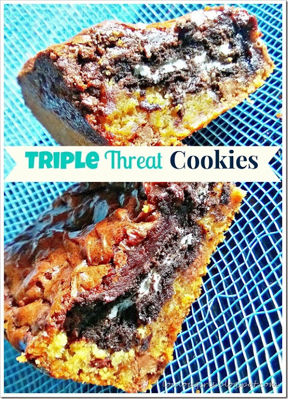 triple threat cookies