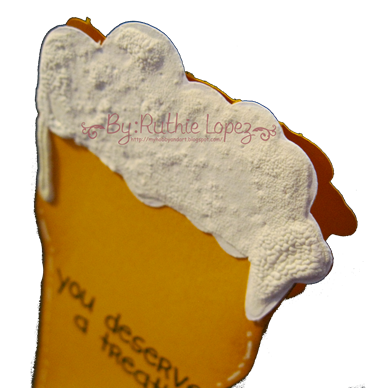 Beer Glass Card Platypus Creek Digitals 3