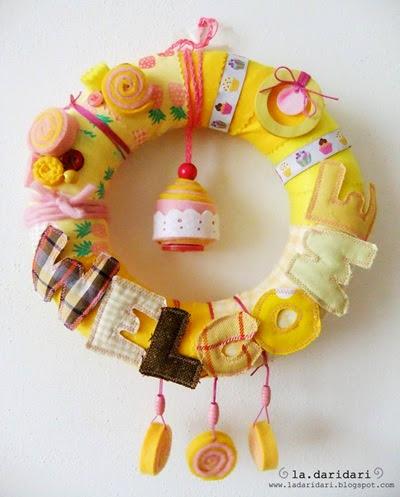 ghirlanda cupcake