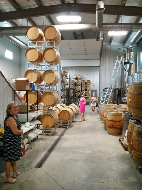 Never decline a barrel tasting at Painted Rock!