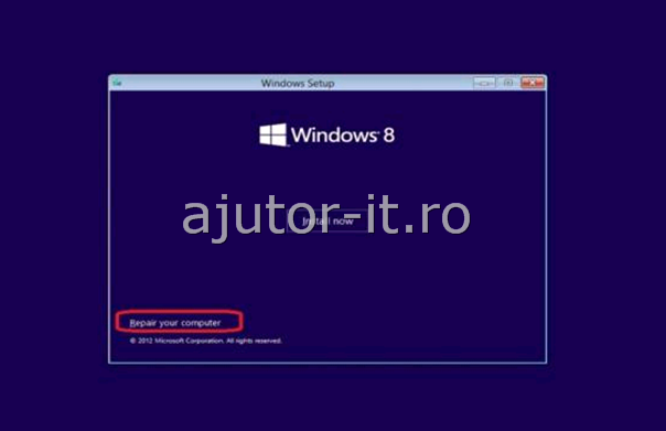 Windows 8 Error Code 0xc0000225 (Windows 7 Error Code 0xc0000225)