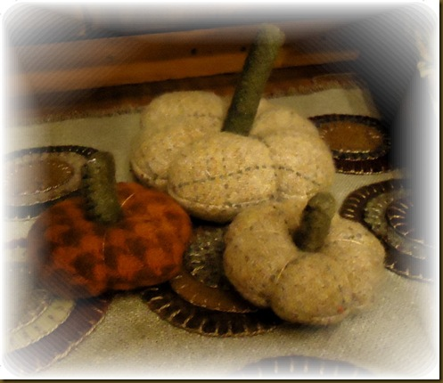 Wool Pumpkins