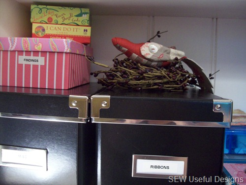 Studio bird vignette