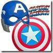 Jogo de vestir do Capitão América