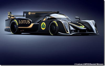 Lotus LMP2 Concept 2013 / Kodewa & Daniel Simon