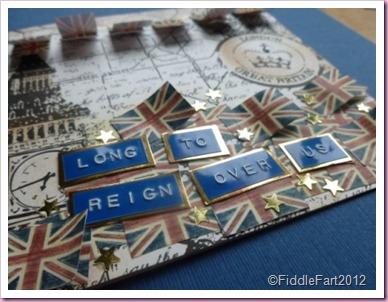 Card for Queen's Diamond Jubilee