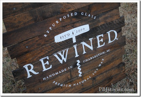 Reclaimed wood custom company sign