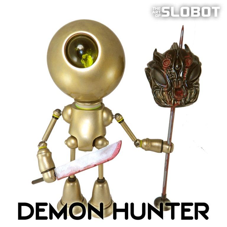 MikeSlobot_DemonHunter_PaulKaiju_Demon_Kaiju