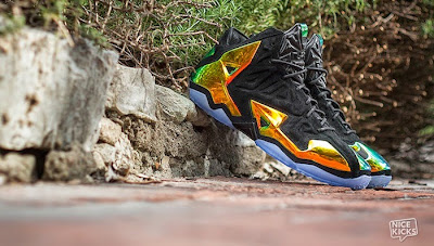 nike lebron 11 nsw sportswear ext kings crown 5 01 Nike LeBron 11 EXT Kings Crown aka Crown Jewel Release Info