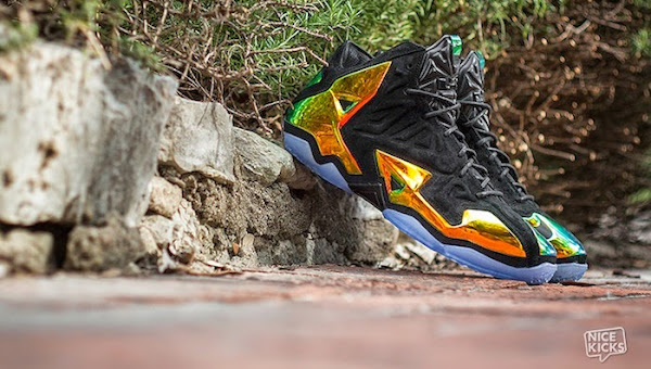 Nike LeBron 11 EXT King8217s Crown aka Crown Jewel Release Info