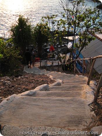 Blue Lagoon Steps