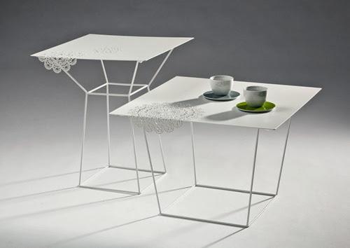 LTG-Merlot tavolini bianchi