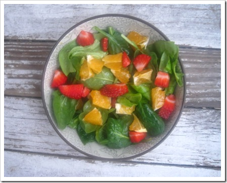 spinach salad header