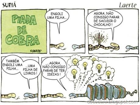 piada de cobra