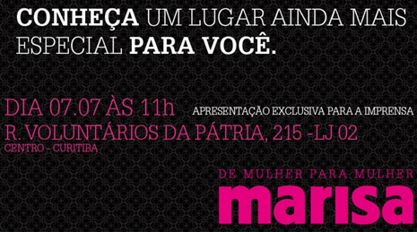 Marisa Lingerie Curitiba loja