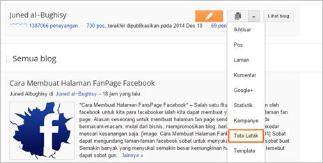 Cara Membuat Fans Page Facebook di Blog 06