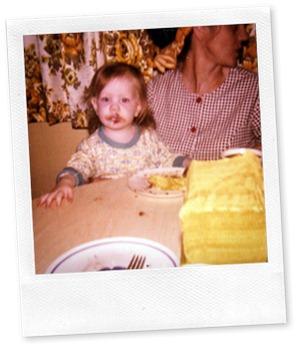 Christie & Grandma 1975