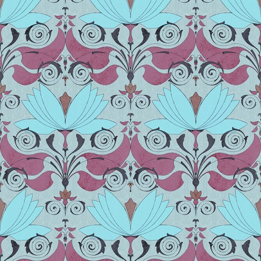 lotos pattern by Maria Khersonets - 4