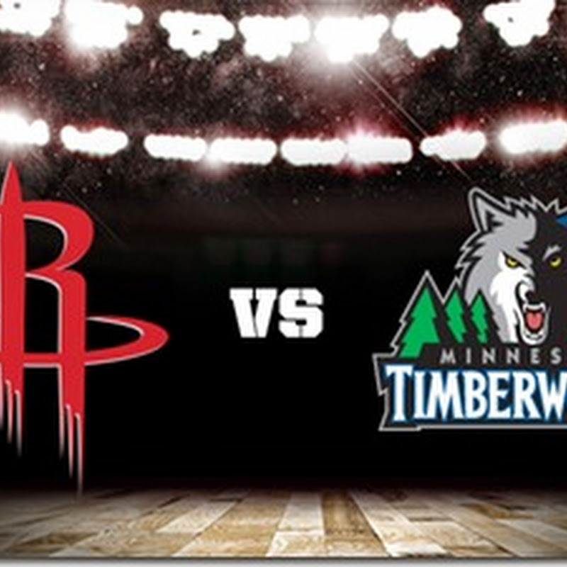 Rockets vs Timberwolves NBA Mexico Noviembre 2014