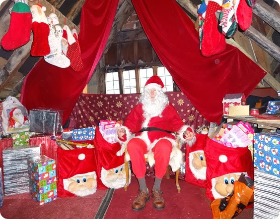 Rotary Club of Nantwich - Santas Grotto 2013