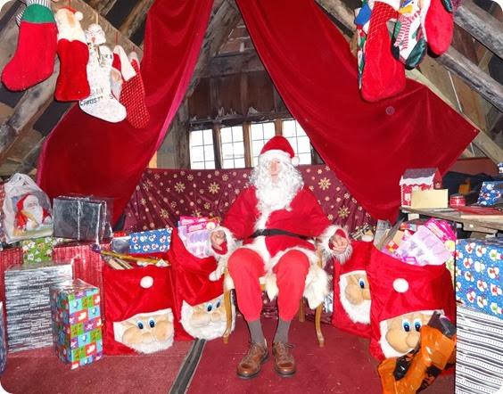Rotary Club of Nantwich - Santas Grotto 2013