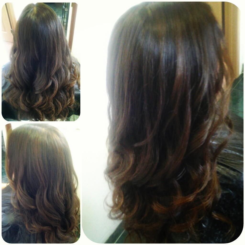 Healthy Hair Is Beautiful Hair..: Caramel lowlights