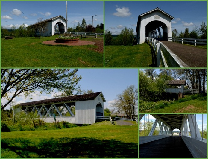 Weddle Bridge in Sweet Home
