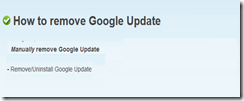 How to Uninstall Google-Update-Plugin completely