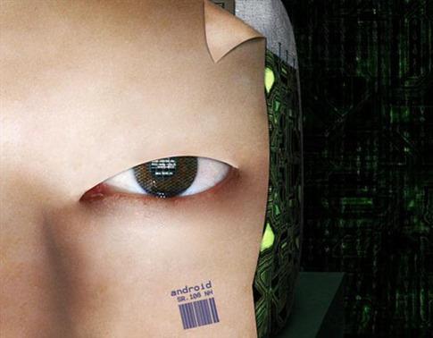 20. Hacer la cara de un robot humanoide